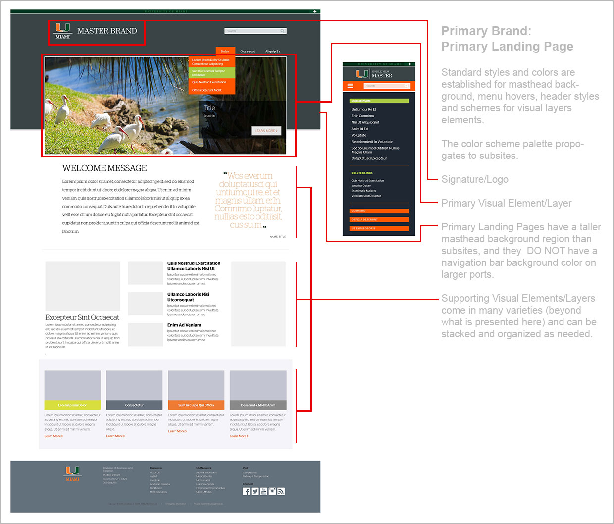 Primary Landing Page